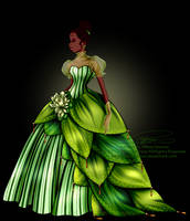 Disney Haut Couture - Tiana by tiffanymarsou