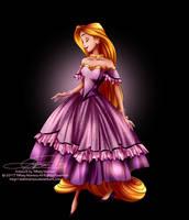 Disney Haut Couture - Rapunzel by tiffanymarsou