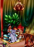 the Princess's hobby room