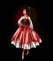 Disney Haut Couture - Melody by tiffanymarsou