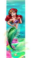 Mermaid Princess by tiffanymarsou