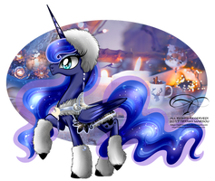 Winter Pony - Princess Luna