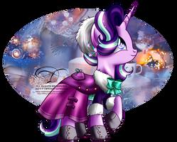 Winter Pony - Starlight Glimmer by tiffanymarsou