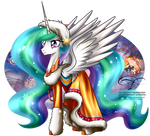 Winter Pony - Princess Celestia