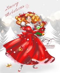 Candy Candy Christmas by tiffanymarsou
