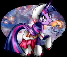 Winter Pony - Twilight Sparkle by tiffanymarsou