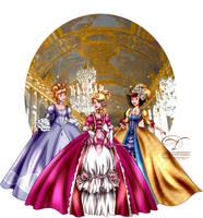 Court of Versailles by tiffanymarsou