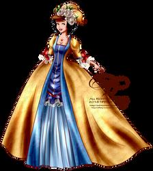 Court of Versailles - Snow White by tiffanymarsou