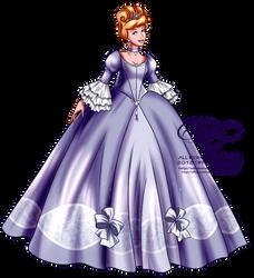 Court of Versailles - Cinderella by tiffanymarsou