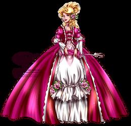 Court of Versailles - Aurora by tiffanymarsou