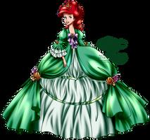 Court of Versailles - Ariel by tiffanymarsou