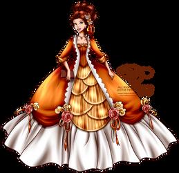 Court of Versailles - Belle by tiffanymarsou