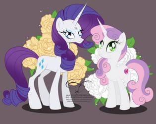 Older Rar and Sweetie by tiffanymarsou