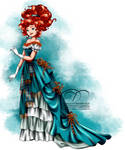 Vintage Ballgown - Merida