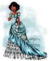 Vintage Ballgown - Jasmine by tiffanymarsou