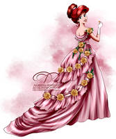 Vintage Ballgown - Ariel by tiffanymarsou