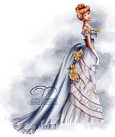 Vintage Ballgown - Cinderella by tiffanymarsou