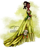 Vintage Ballgown - Tiana by tiffanymarsou