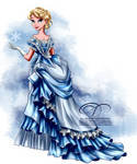 Vintage Ballgown - Elsa