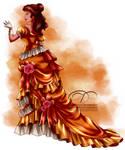 Vintage Ballgown - Belle by tiffanymarsou