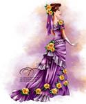 Vintage Ballgown - Rapunzel
