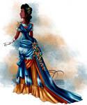 Vintage Ballgown - Pocahontas