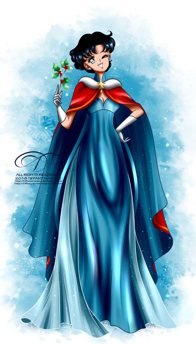Christmas Princess.Christmas Princess Mercury By Tiffanymarsou On Deviantart