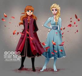 Frozen II - outfits by tiffanymarsou