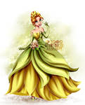 Crossover - Rapunzel as Tiana