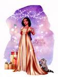 Merry Christmas Princess - Pocahontas by tiffanymarsou