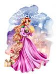 Merry Christmas Princess - Rapunzel