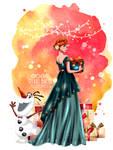 Merry Christmas Princess - Anna