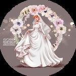 Wedding Day - Cinderella by tiffanymarsou