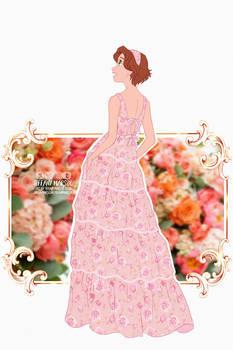 Fashion Plates - Rapunzel