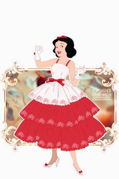 Fashion Plates - Snow White