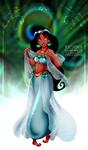 Jasmine -peacock theme- by tiffanymarsou