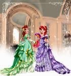 Vintage Magic - Ariel and Attina by tiffanymarsou
