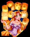 Rapunzel by tiffanymarsou