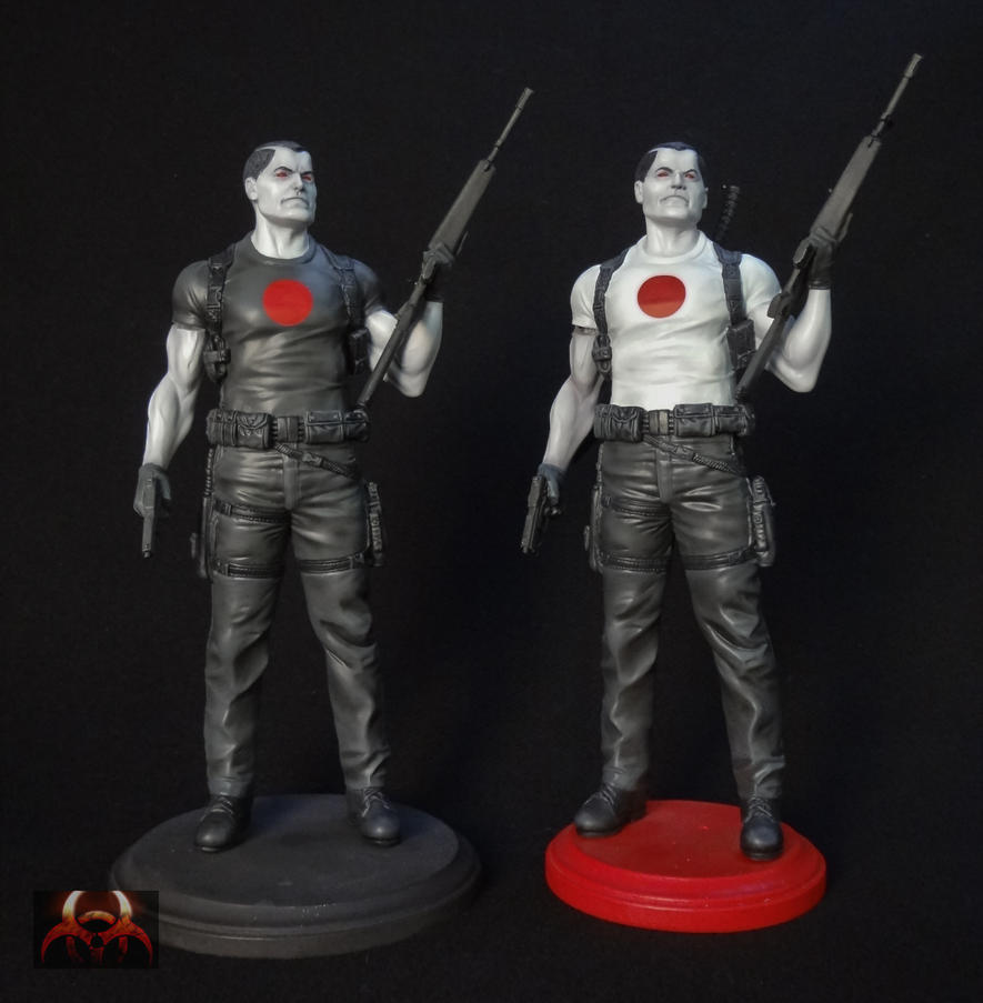 Bloodshot Statue by QuarantineStudio