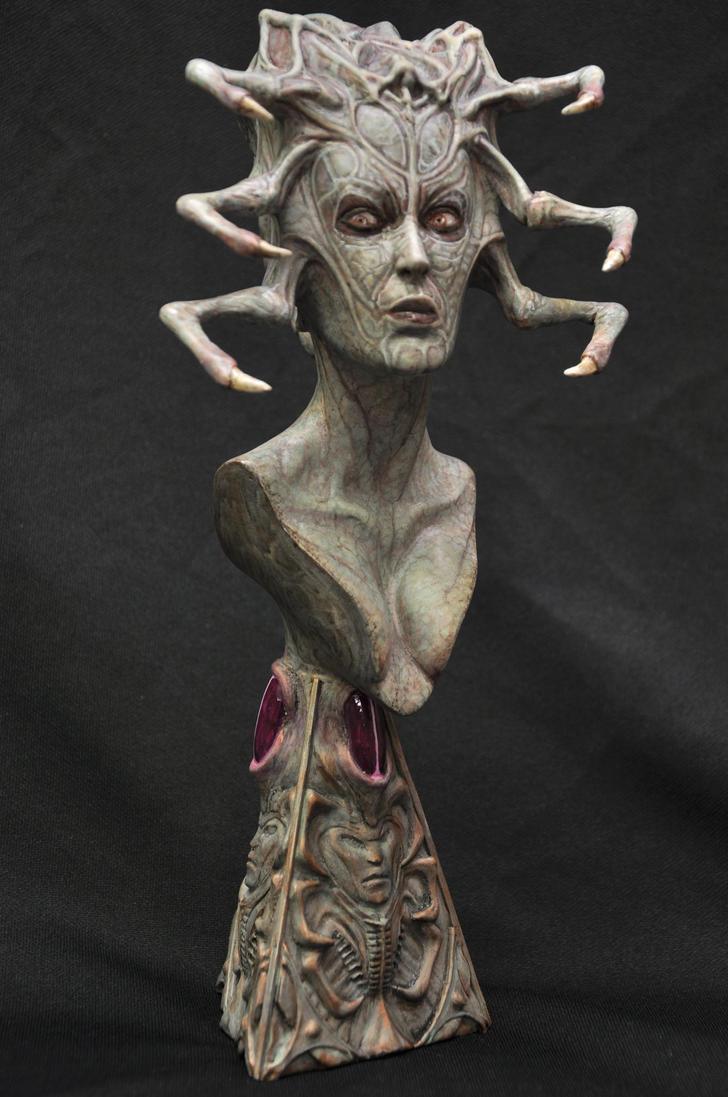Xenomorphodite(Captain Anders) by QuarantineStudio