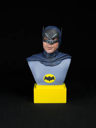 Adam The Batman West Tribute Bust by QuarantineStudio