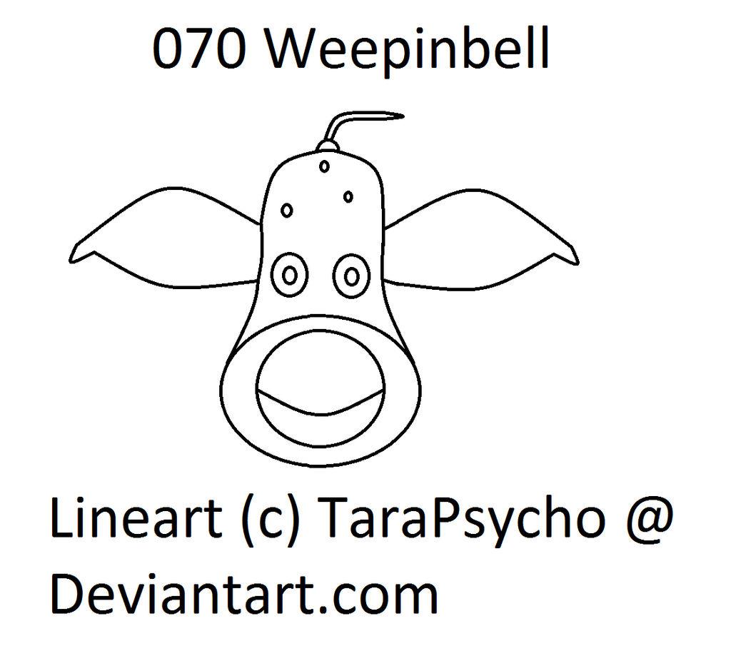 070 Weepinbell Lineart