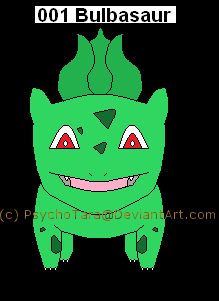 Shiny Bulbasaur
