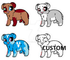 Chibi Puppy Adopts OPEN