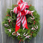 Candy Christmas Wreath