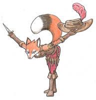 Kyomi, Kitsune Pirate by ajvulpes