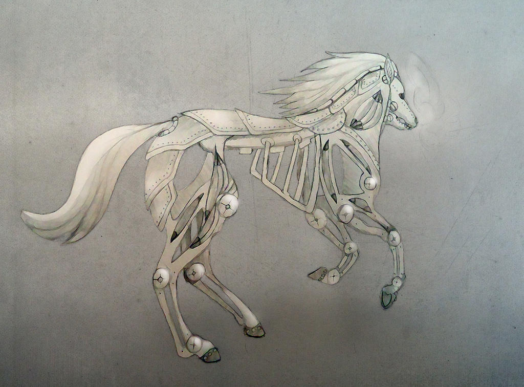 Steampunk Horse by Chequer