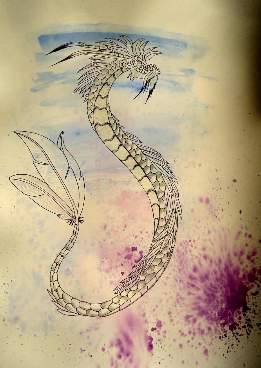 Waterdragon by Chequer