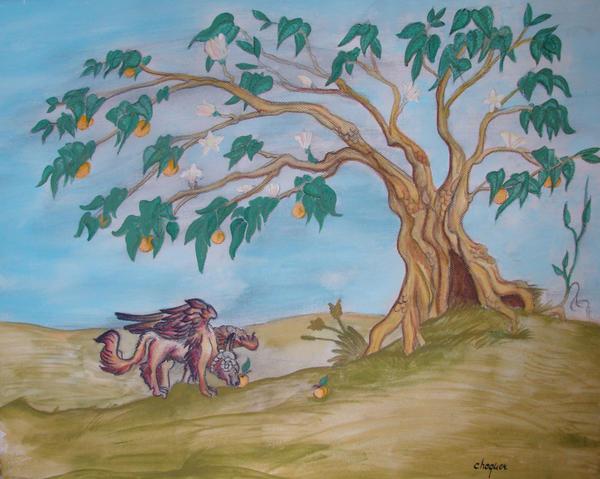 Orangenbaum by Chequer