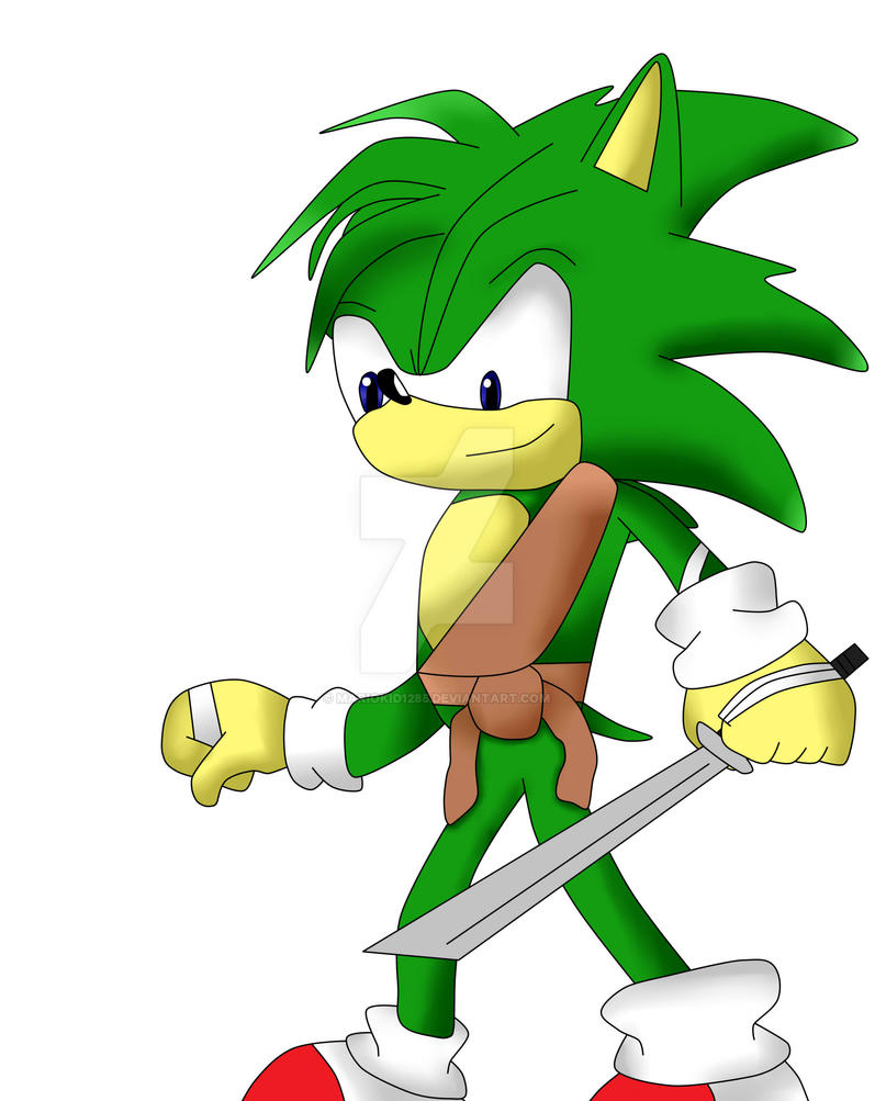 Manic the Hedgehog (Sonic Boom Style) by MarioKid1285 on ...
